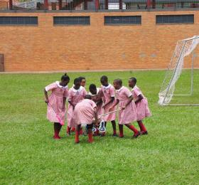 Lacrosse Players at Kampala Parents
