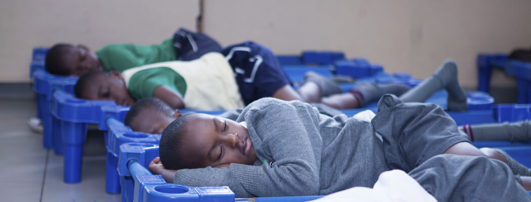 Kampala Parents School - Sleeping Room