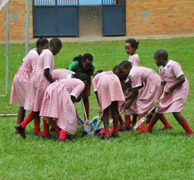 Girls Practice
